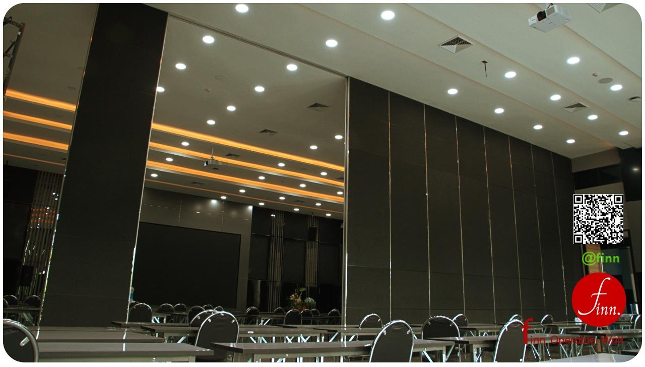 ผนังกั้นห้องกันเสียง FINN สำหรับเป็นผนังกั้นห้องประชุม